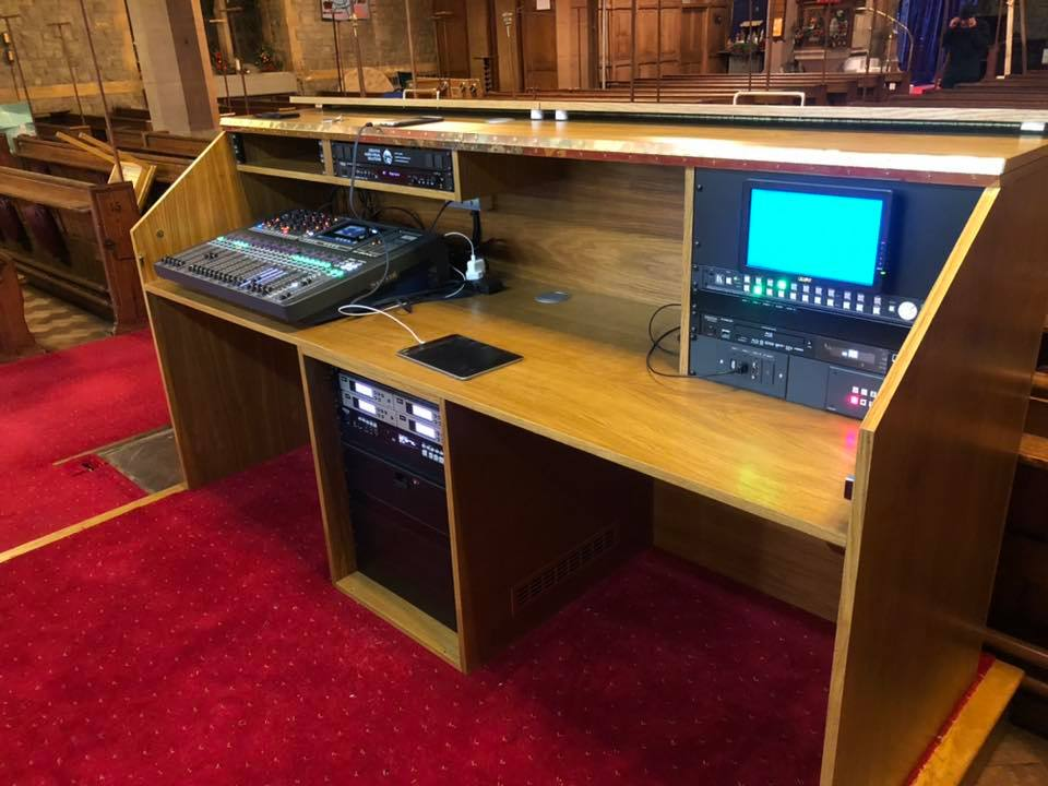 Fullers Finer Furniture Sidcup AV Desk