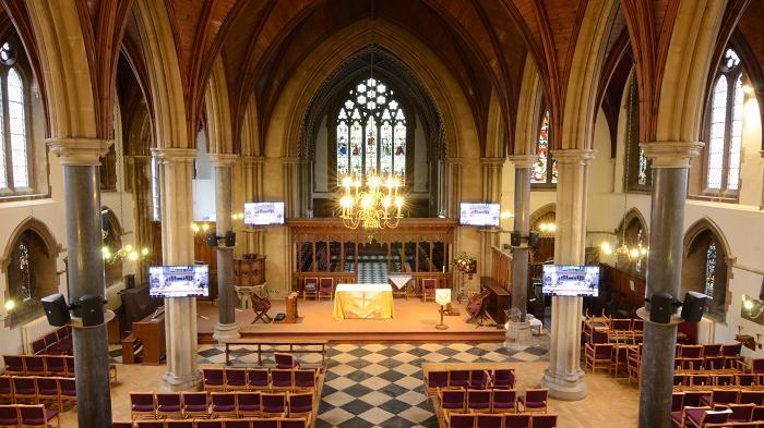 Buckingham Parish Church AV PA System